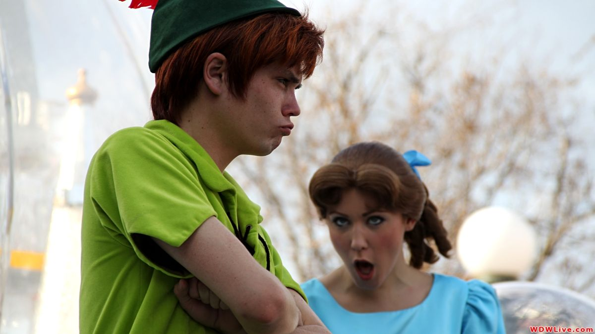 Wendy and peter pan wendy to join peter pan at new fantasyland wendy and peter pan wendy to join peter pan at new fantasyland meet and greet kristyandbryce Image collections