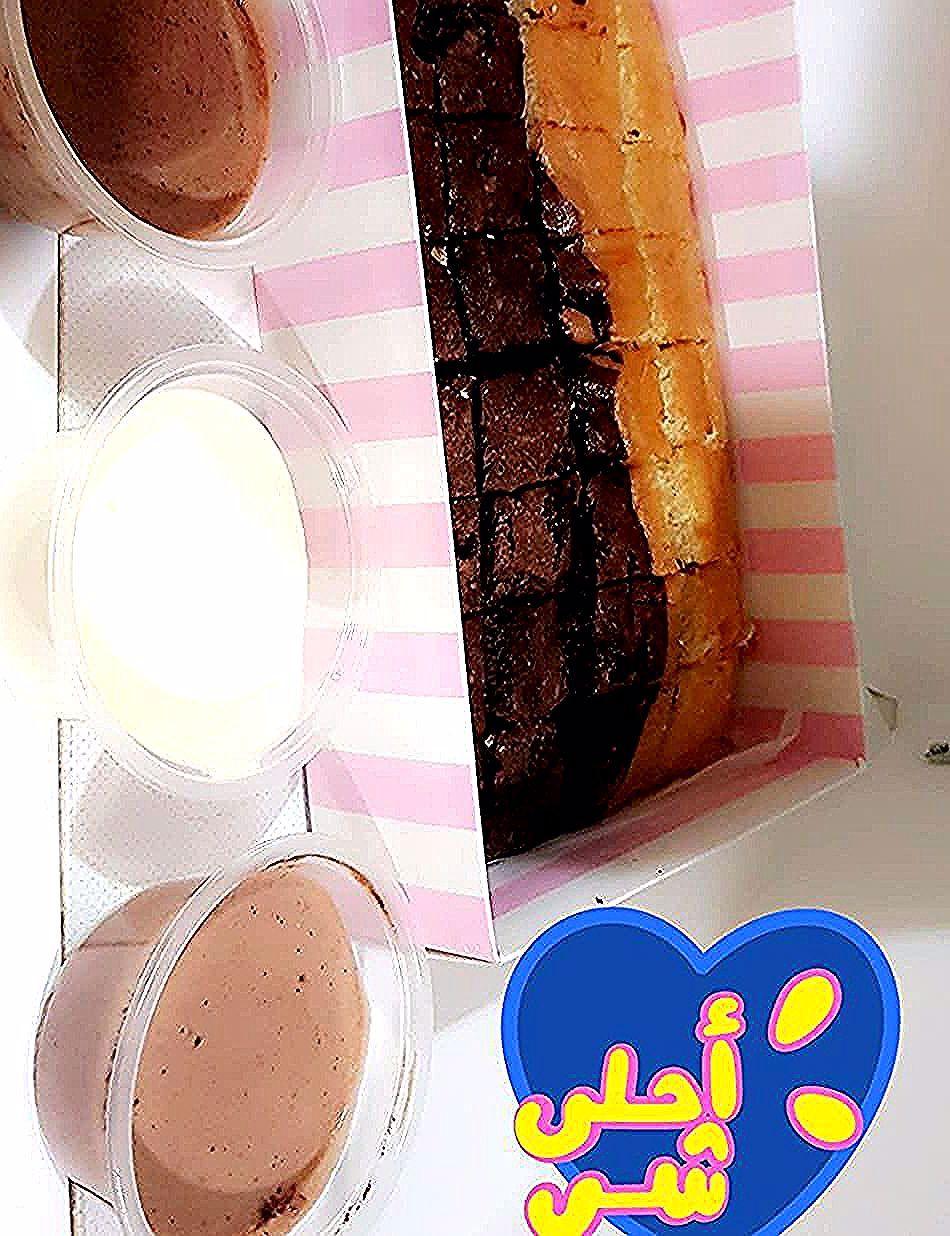 Kuwait Ku Cake Sweet Babati Babati Cup كيك حلويات نوتيلا لوتس كندر سويت قهوه كويت كويتيات توصيل عرض Food Milk Glass Of Milk