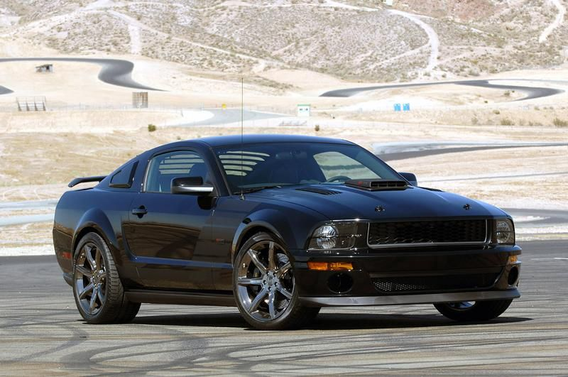 Mustang Saleen Dark Horse Edition Ford Mustang Mustang Dark