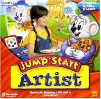 New Knowledge Adventure Jump Start Artist Compatible With Windows 98\/Me\/2000\/Xp | Early learning ...