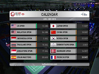 BWF World Tour Yonex French Open Biss Key Eutelsat 7A/7B 26