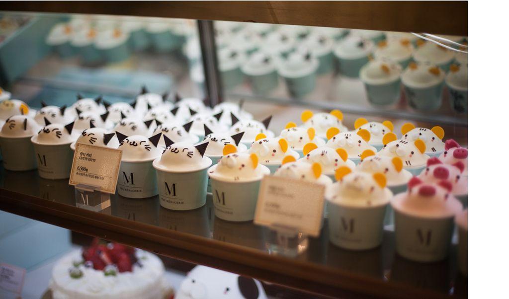 Korean Banana Cake Recipe: The Menagerie Cupcakes - Cream Mango Strawberry