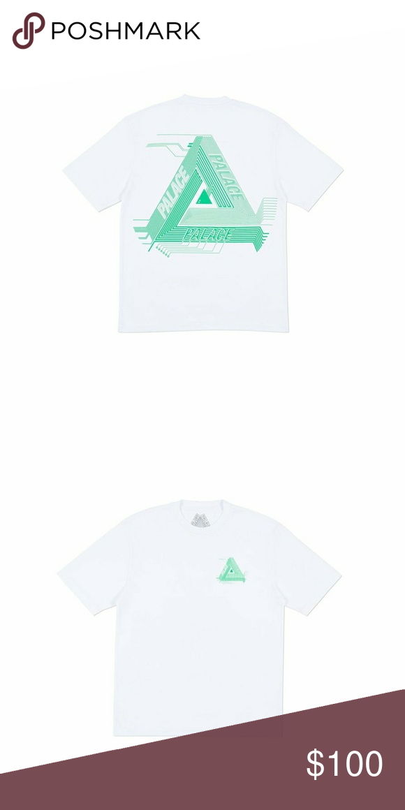 0f8358834b8f Palace Triarch Tee Ss18 release Brand New with Tags Condition 10 10 Never  worn palace Shirts Tees - Short Sleeve