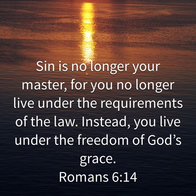 Romans 6:14, New Living Translation (NLT) | Love the lord, Bible apps, Lord  of hosts