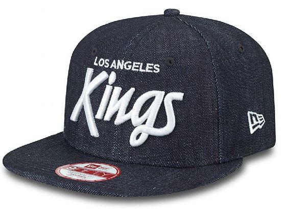 brand new fefaa ca006 Denim LA Kings Original Fit 9FIFTY Snapback Cap by NEW ERA x MLB