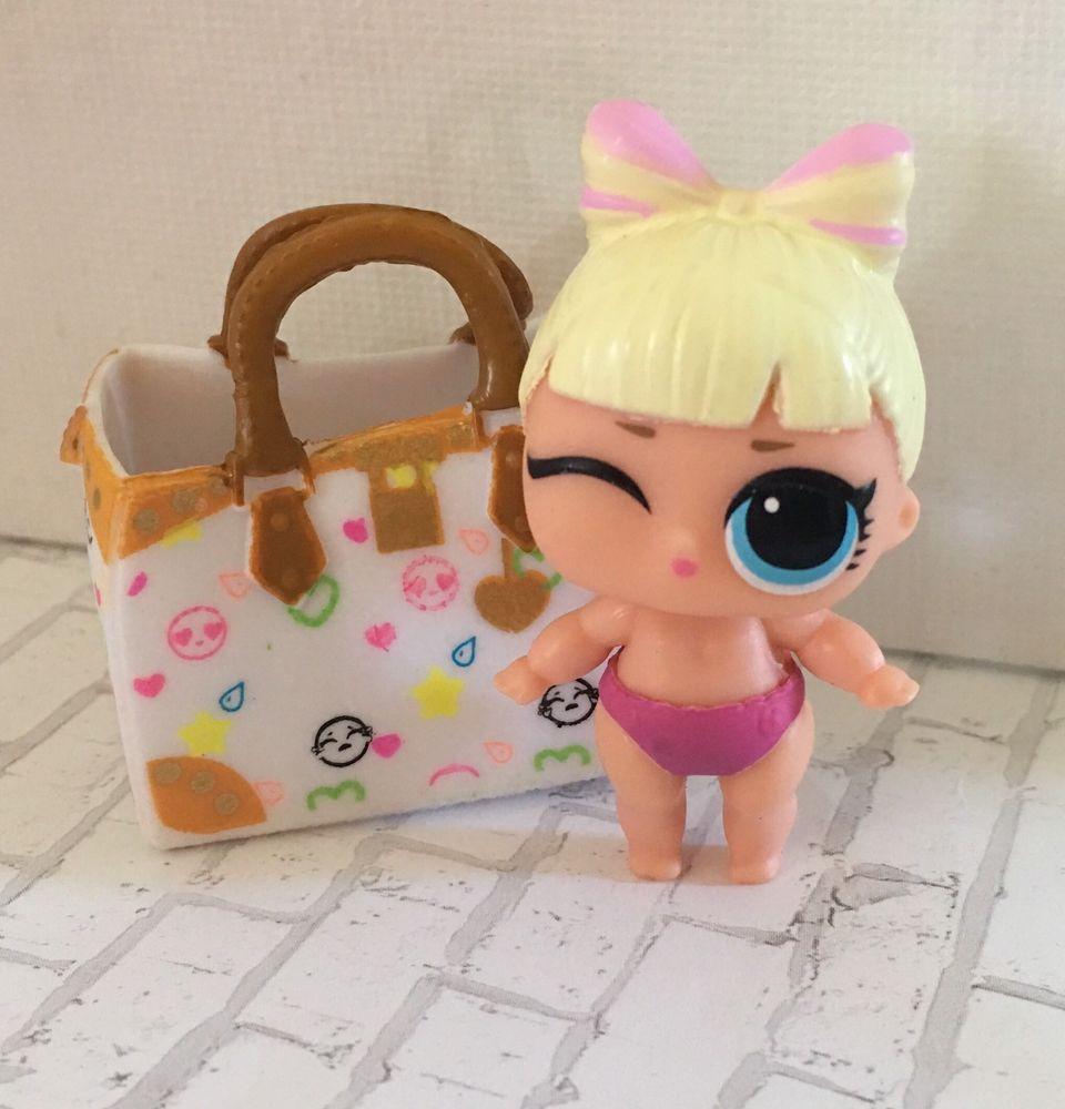 Brrr B.B With bag LOL Surprise LiL Sisters L.O.L BB SERIES 2 COLOR CHANGE doll