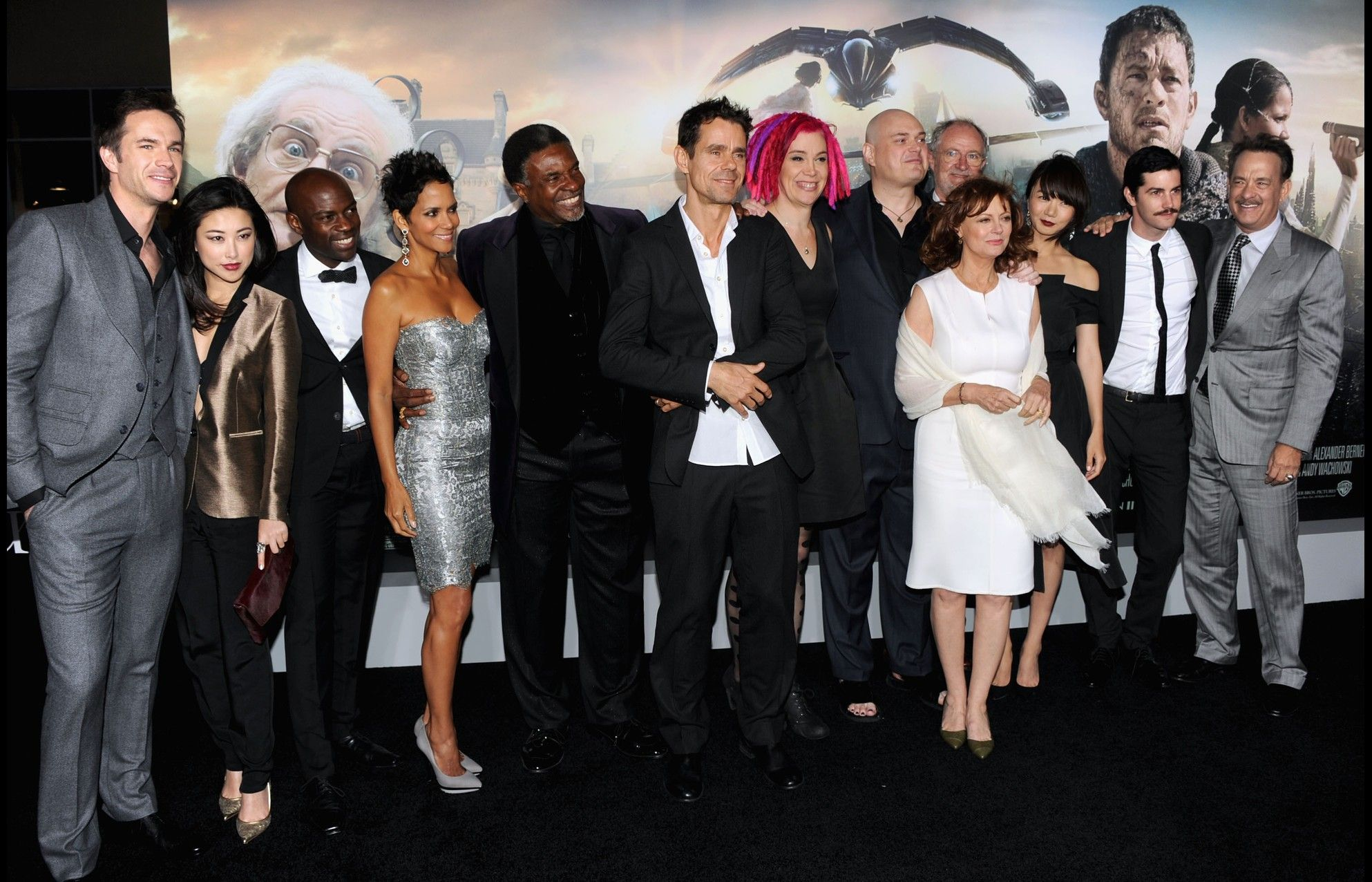 Cloud Atlas cast and directors at the Hollywood premiere at Grauman's Chinese Theatre - Oct. 24, 2012