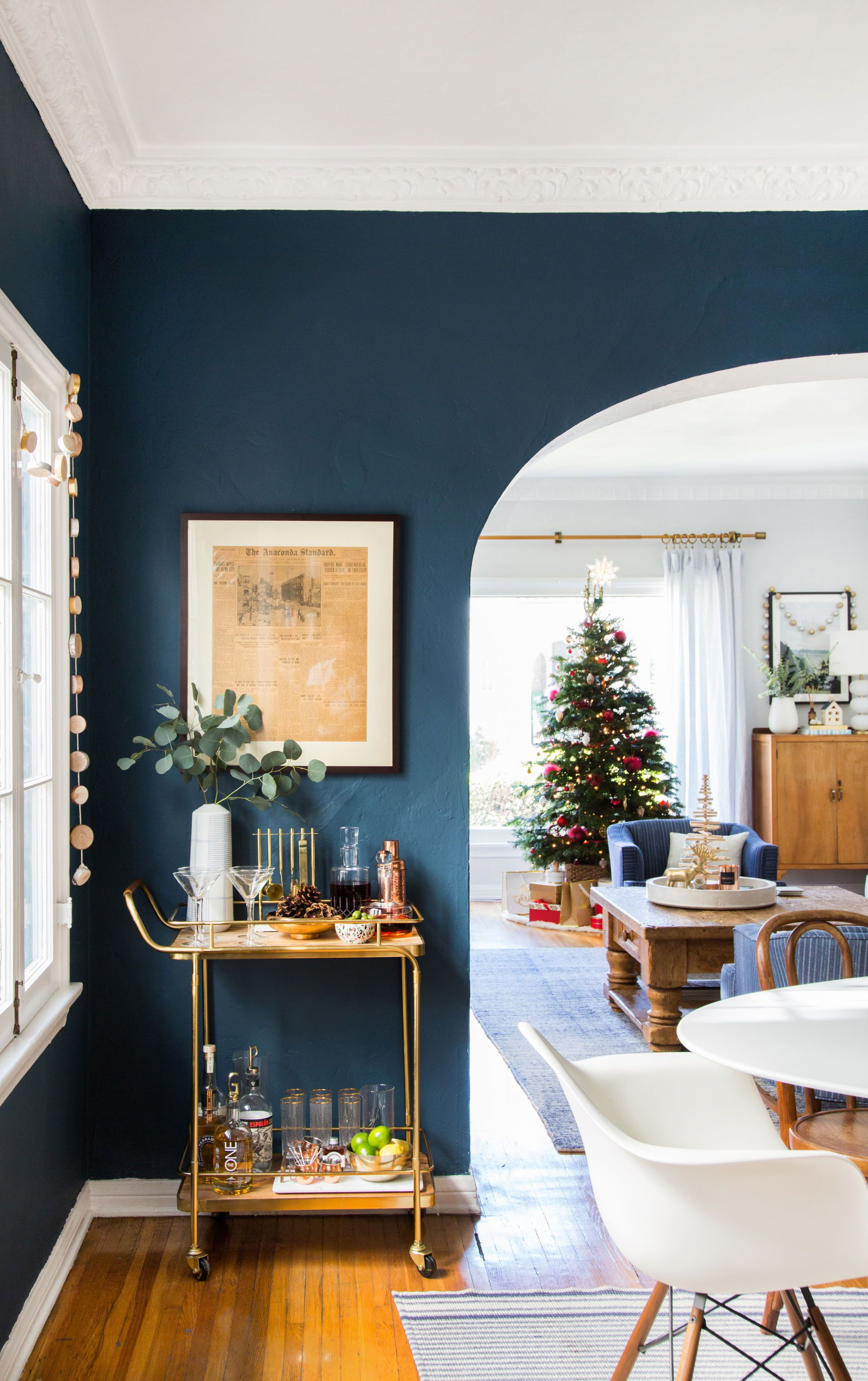 At Home With Ginny For Christmas Dining Room Colors