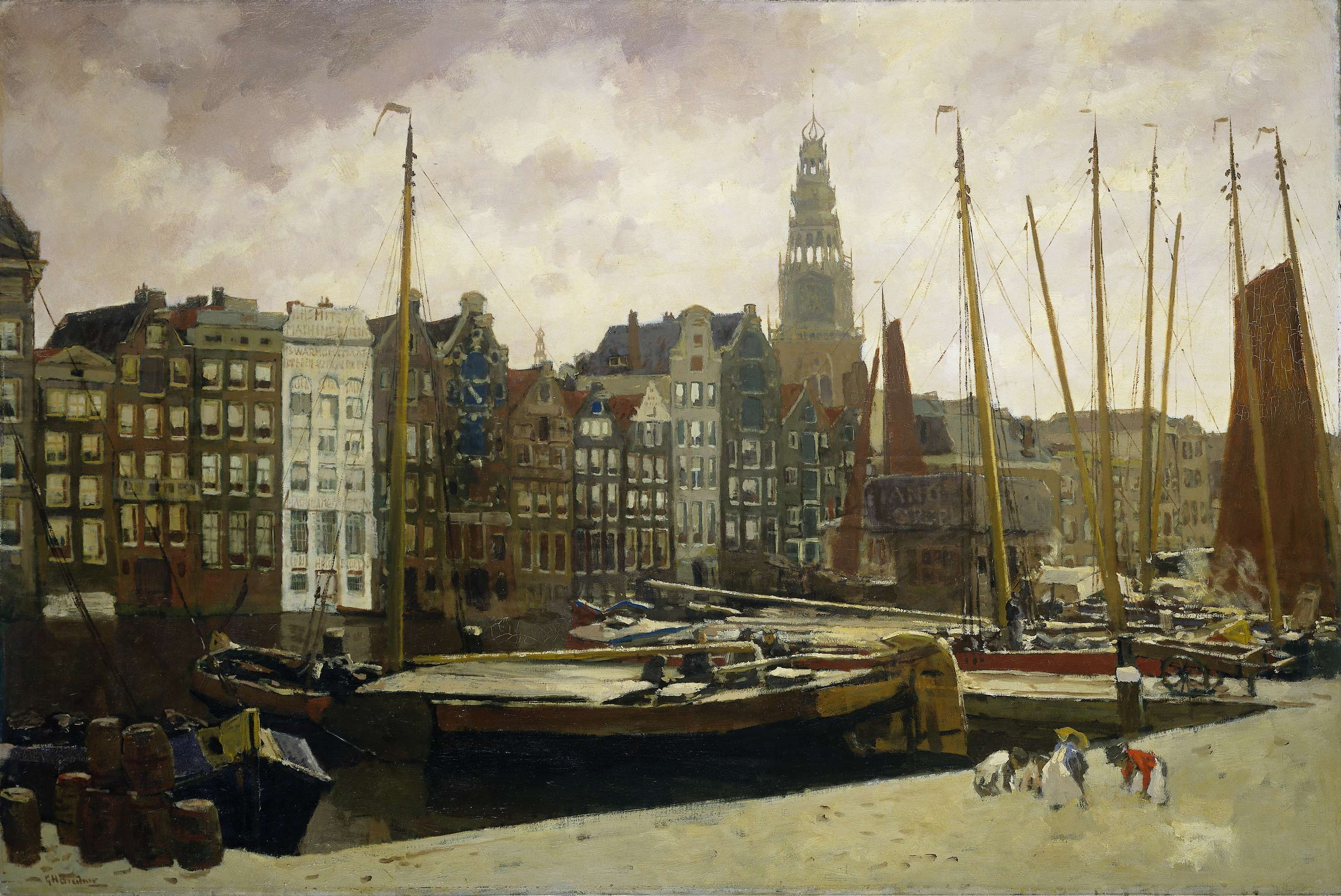 Amsterdam Behang Impressionisme Tot 1910 The Netherlands Amsterdam