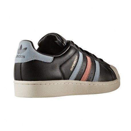 timeless design 3ecd6 cfd8d Zapatilla Superstar Negra Fantasia de Adidas Original