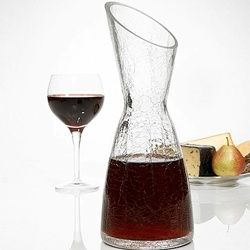 For the Home: Hourglass Wine Decanter, $11.95