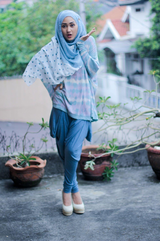 Cara Memakai Hijab Segitiga Biasa Cara Hijab Cara Berhijab