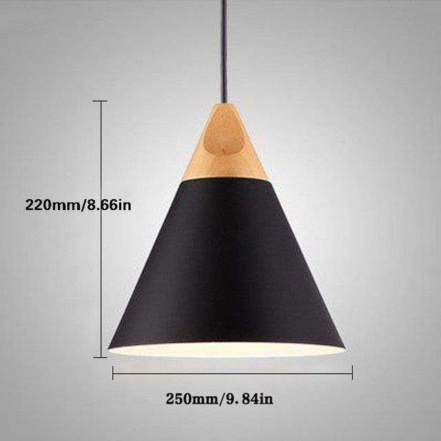 Modern wood pendant lights lamparas colorful aluminum lamp shade modern wood pendant lights lamparas colorful aluminum lamp shade luminaire dining room lights pendant lamp for mozeypictures Image collections