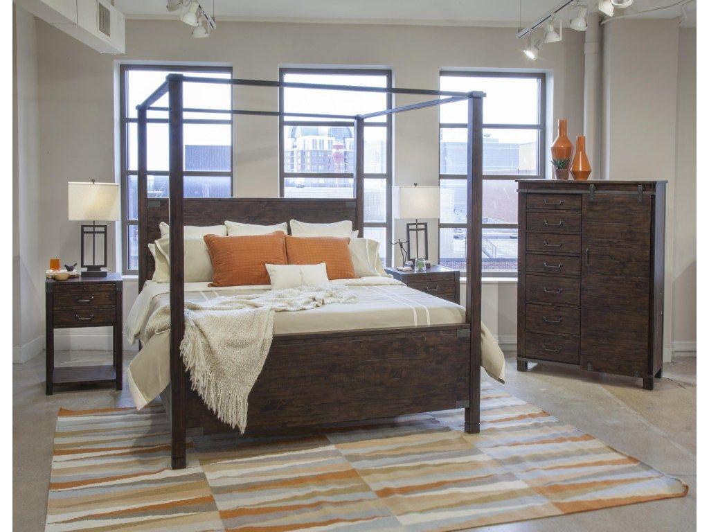 pine hill queen bedroom group 4 by magnussen home queen bedroom