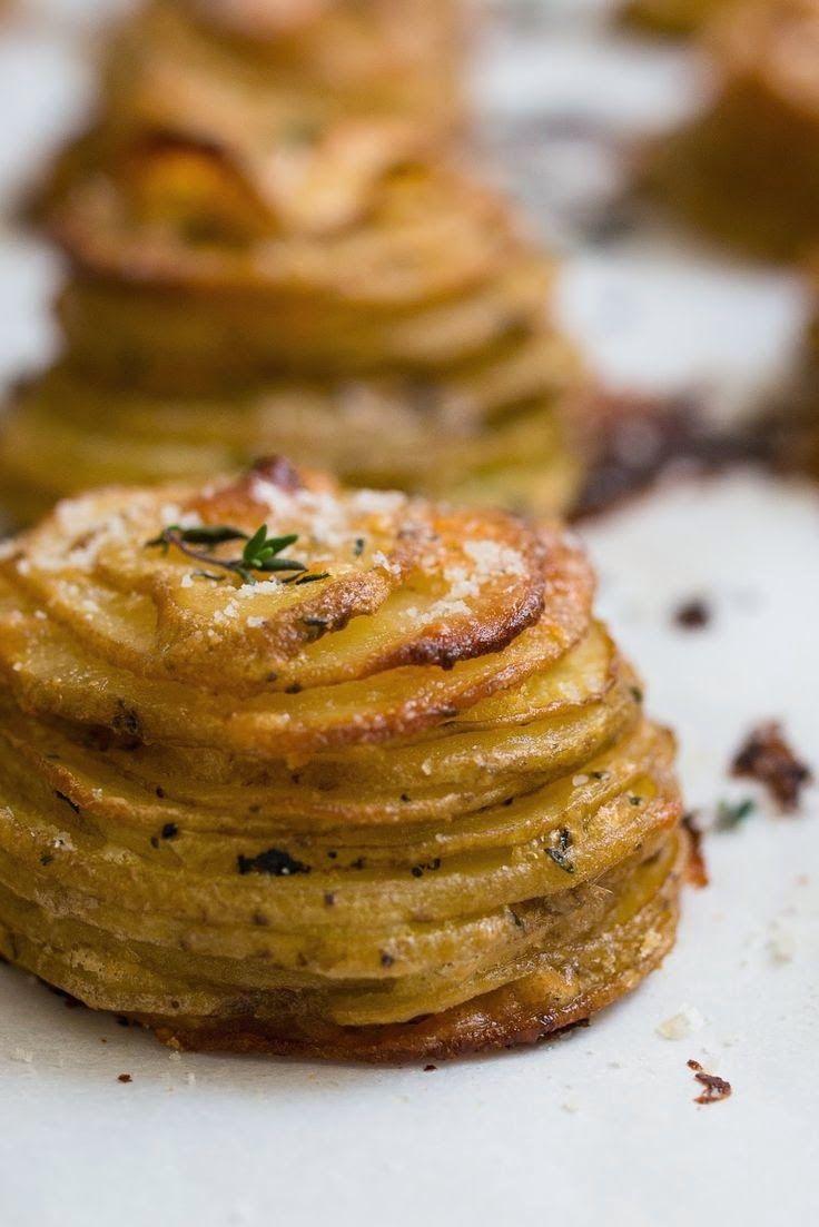 Boerekos met 'n Twist: Aartappel en Parmasan Vinger happies