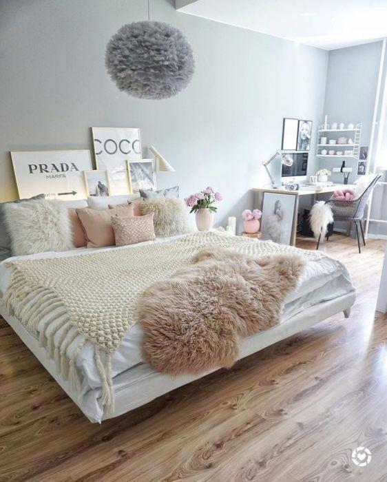Pin de cristina en dormitorio en 2019 home bedroom - Decoracion dormitorios juveniles femeninos ...