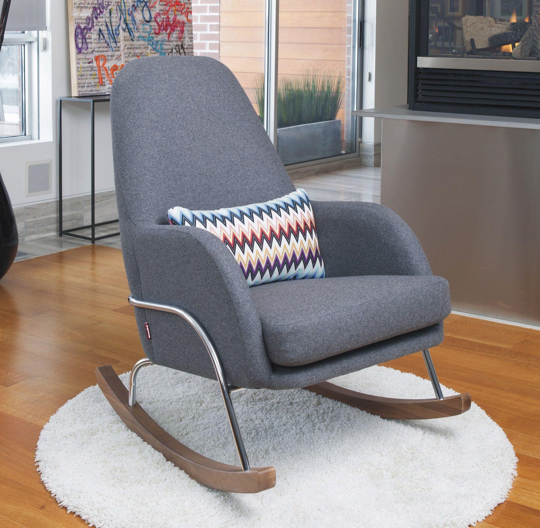 Nursery Rocker Rocking Chair