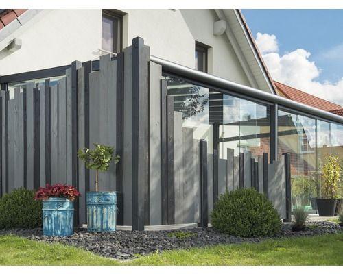 Hauptelement Jenga 180 X 180 Cm Anthrazit Grau Outdoor Outdoor