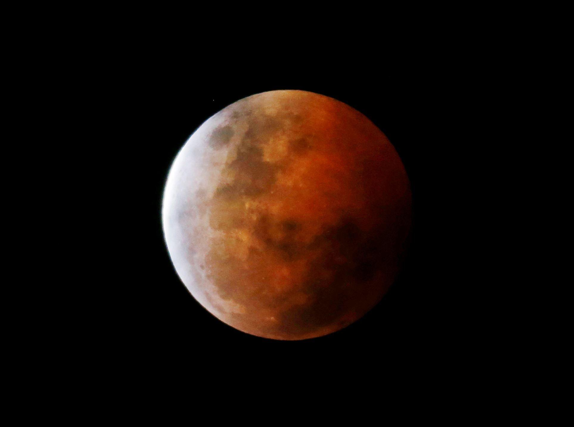 'Blood Moon' lunar eclipse