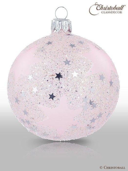 Stars Christbaumkugel Rosa Christbaumkugeln Weihnachtskugeln Weihnachtsdekoration