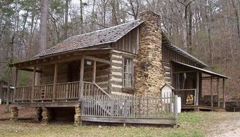 Nail House At Tannehill State Park