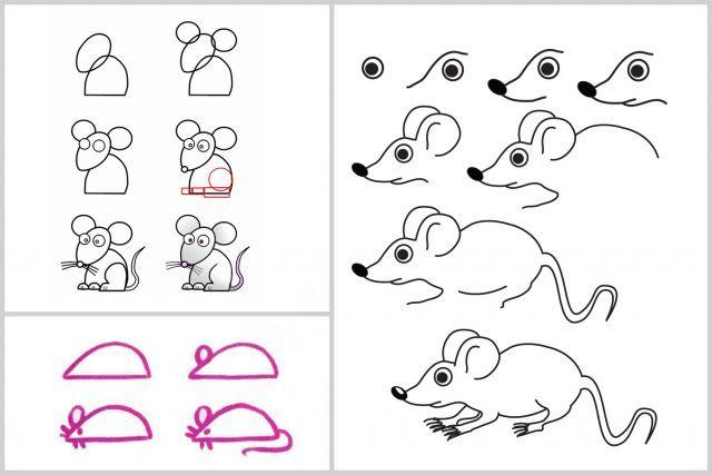 techniques faciles pour apprendre dessiner dessin enfant pinterest pour apprendre. Black Bedroom Furniture Sets. Home Design Ideas