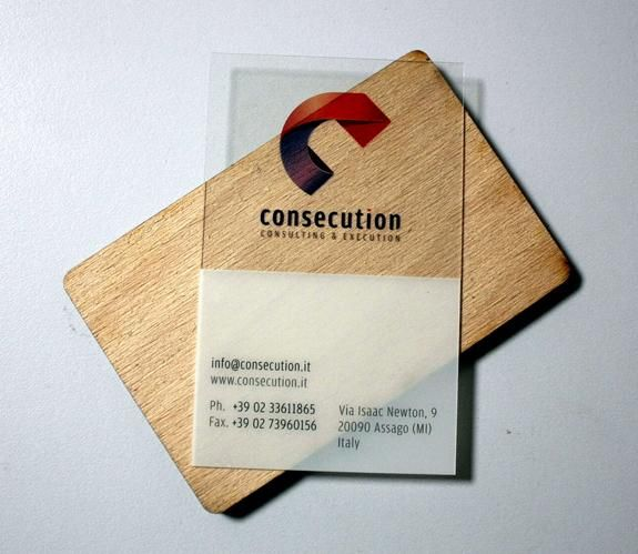 Our clear business cards are made with a 30mm base with rounded