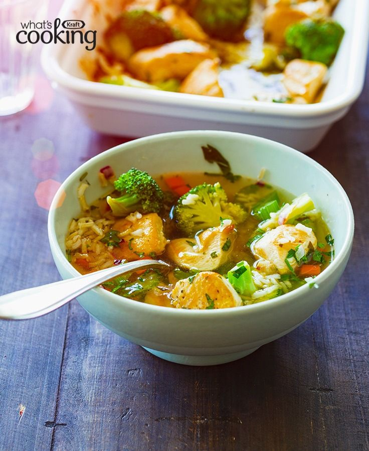 Quick Chicken with Broccoli and Rice | Recipe | Healthy ...