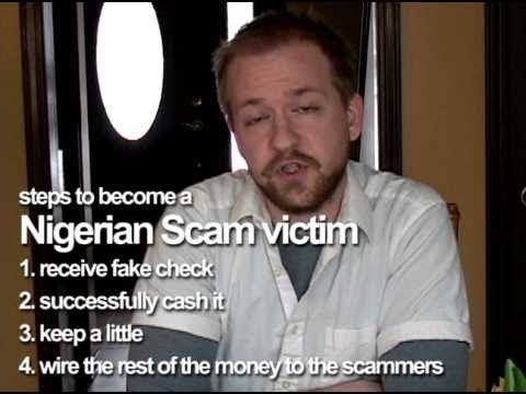 Nigerian scammer pictures