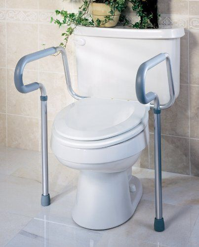 "G30300H Medline 1 EA/EA RAIL,TOILET,SAFETY,GUARDIAN,EACH Medline G30300H by Posey. $40.00. Medline G30300H RAIL,TOILET,SAFETY,GUARDIAN,EACH Physical Medicine/Rehabilitation Toilet Aids, Aids to Daily Living RAIL,TOILET,SAFETY,GUARDIAN,EACH Toilet Seat Frame. Handles Are Adjustable And Rotate Back For A Wide Range Of Comfortable, Secure Positions. Closed Cell Foam Armrests For A Comfortable, Sure Grip. "" Adjustable Height 26"" - 31"" (66-74 Cm) Fits Standard Or Eleva..."
