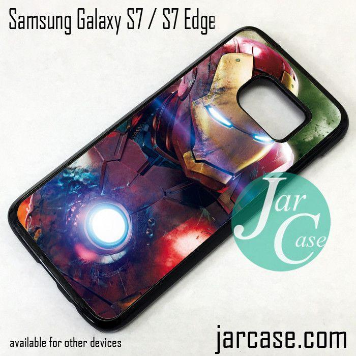 Iron Man Phone Case for Samsung Galaxy S7 & S7 Edge