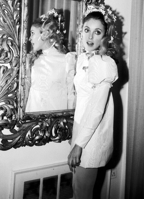Sharon Tate In Her Wedding Dress Wedding Dresses 60s Wedding