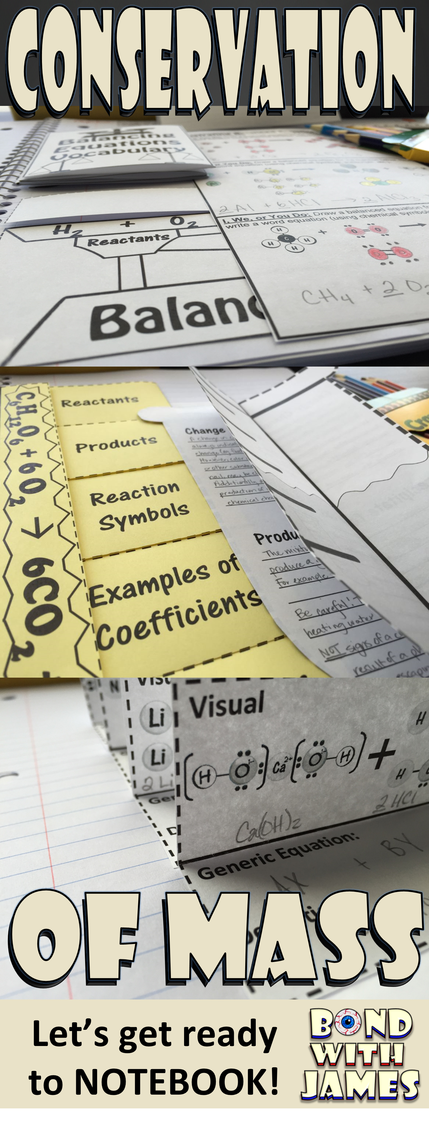 Enhance Your Chemistry Interactive Notebook Inb With The