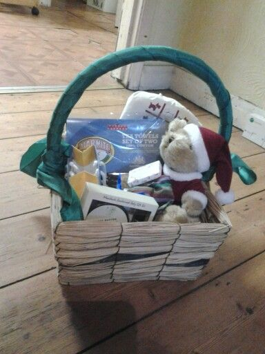 Christmas baskets with gifts for sale on Preloved | mr fischers ...