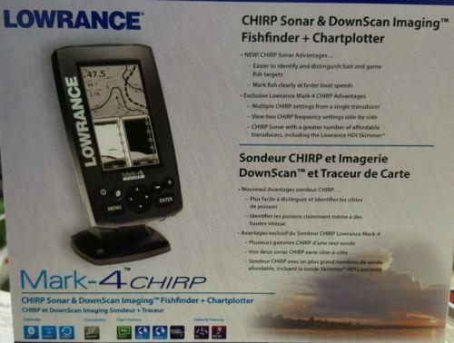 Lowrance Mark-4 Chirp GPS/Fishfinder w/ HDI Transducer #000-11824-001 https://t.co/UU3J0u04li https://t.co/IeYuX48jn8