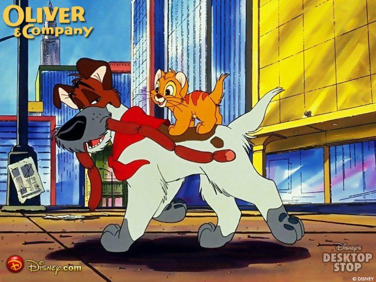 Movie 27 Oliver and Company Oliver and company, Disney
