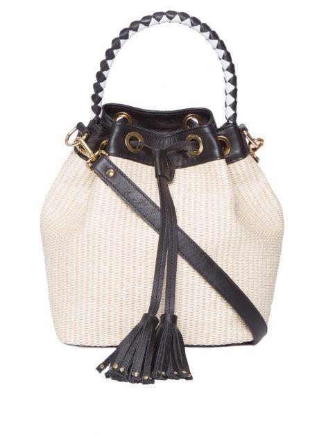 7e431f8a0 Pin de Cio da Moda em BOLSAS DE PALHA, JUTA, BAMBÚ, VIME E RÁFIA | Bucket  Bag e Bags