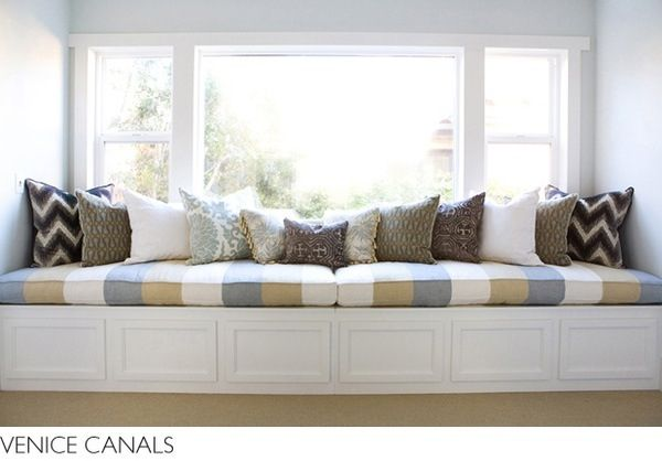 Pin By Chancy Smith On Remodeling Bedroom Window Seat Window Seat Cushions Home