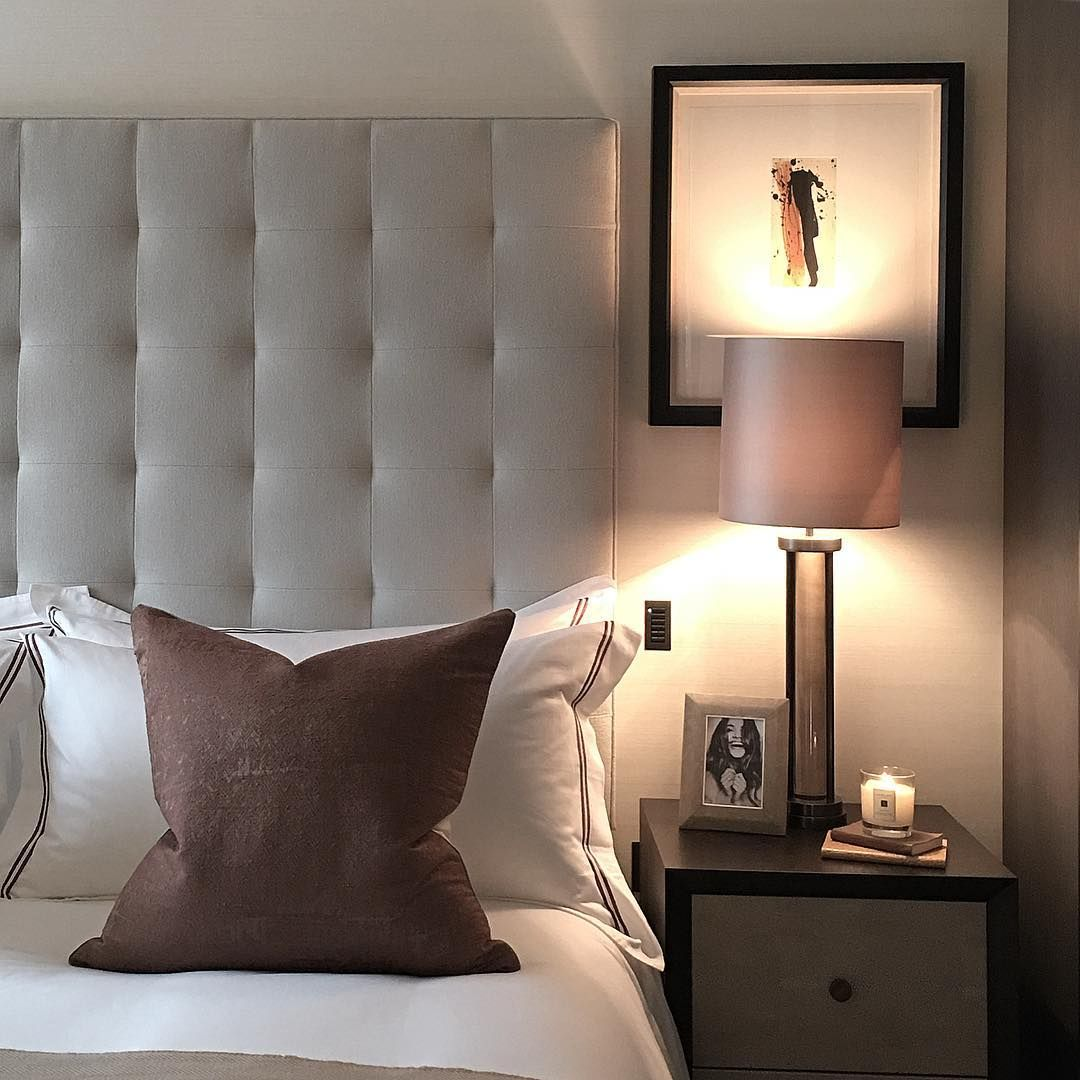Guest bedroom from a recent install with touches of