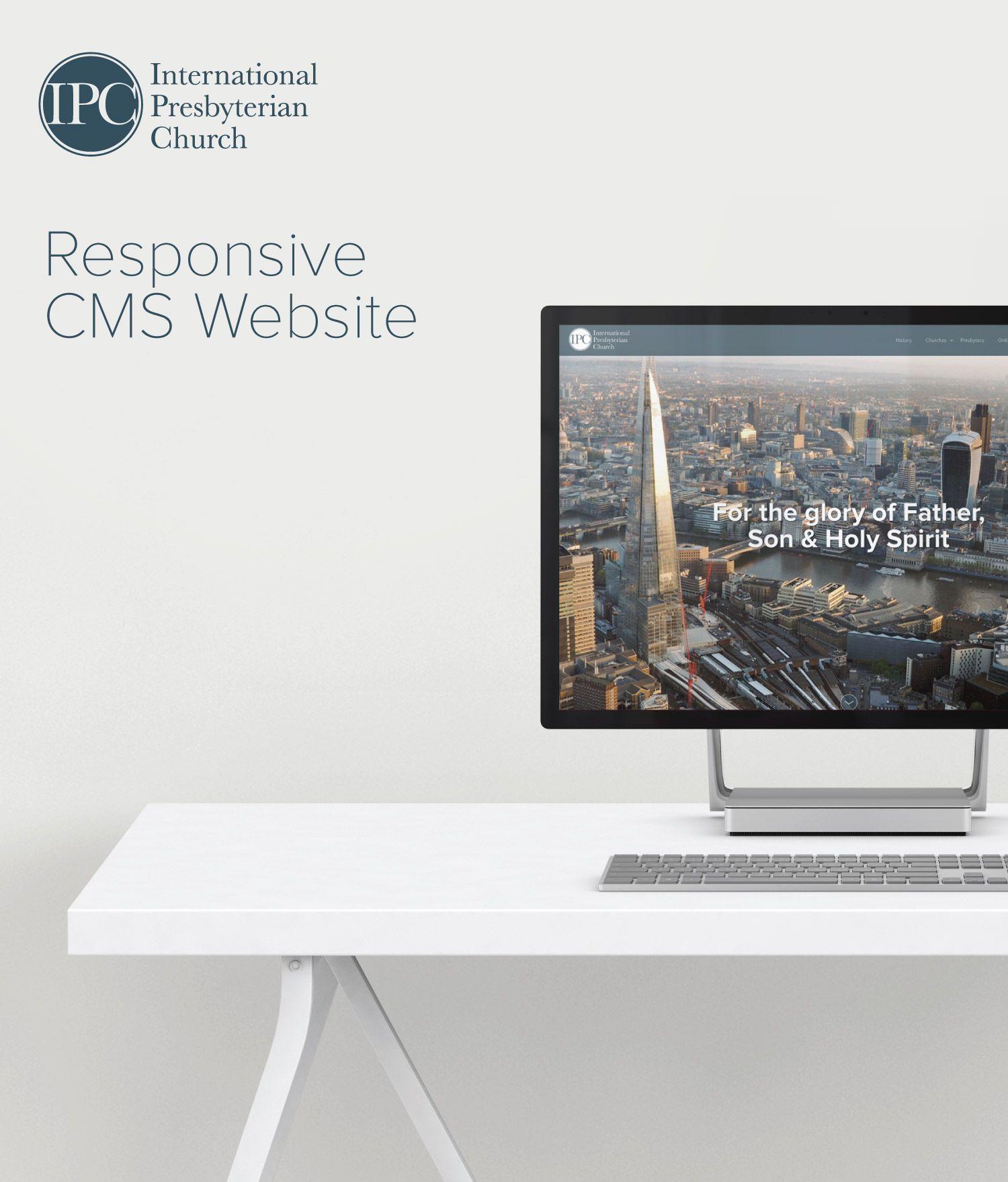 Web Design for International Presbyterian Church, Worldwide