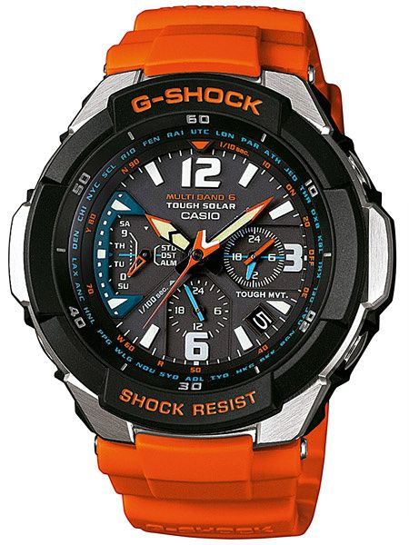Ceas Casio G-Shock GW-3000M-4AER MultiBand 6 Tough Solar Gravity Defier ce7758d5b4