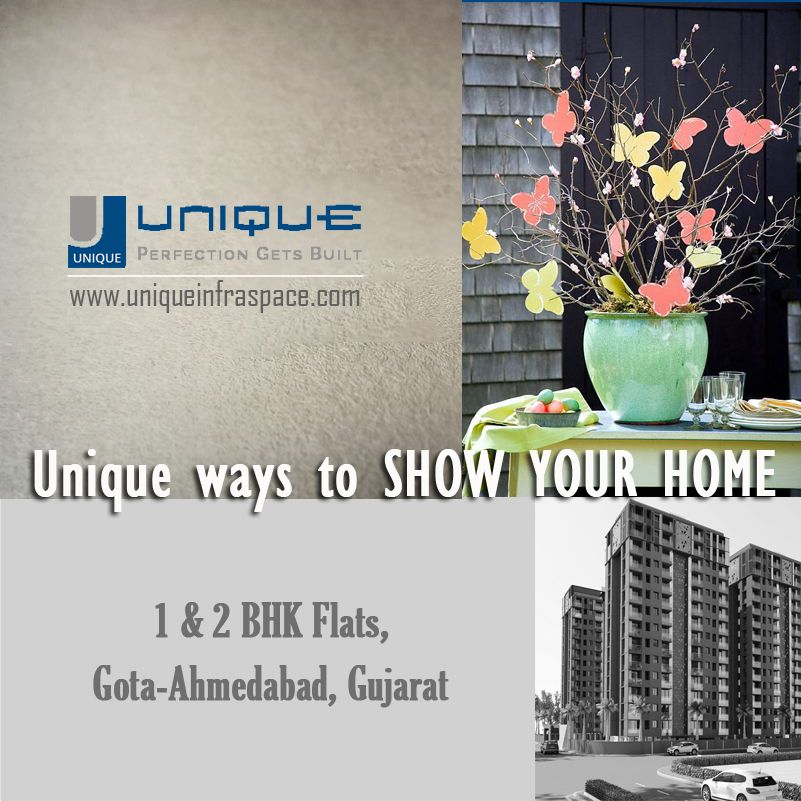 Are you looking to buy a flat in Gota, Ahmedabad? Unique Infraspace offers 1 & 2 BHK Flats with all sorts of Modern Amenities. Interested to know more: Call us on +91-9687661655  #1BHK_Flats #2BHK_Flats #Ahmedabad