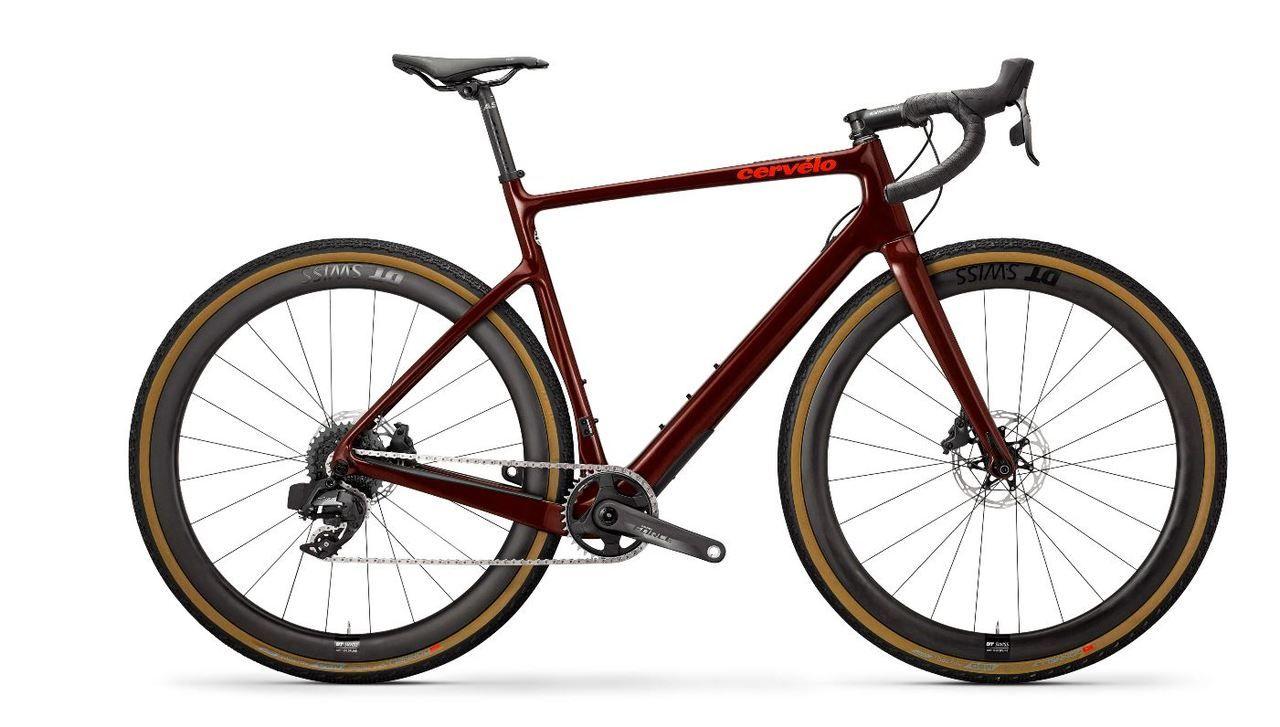 Cervelo Aspero Force Etap Axs 1x Complete Gravel Bike Burgundy