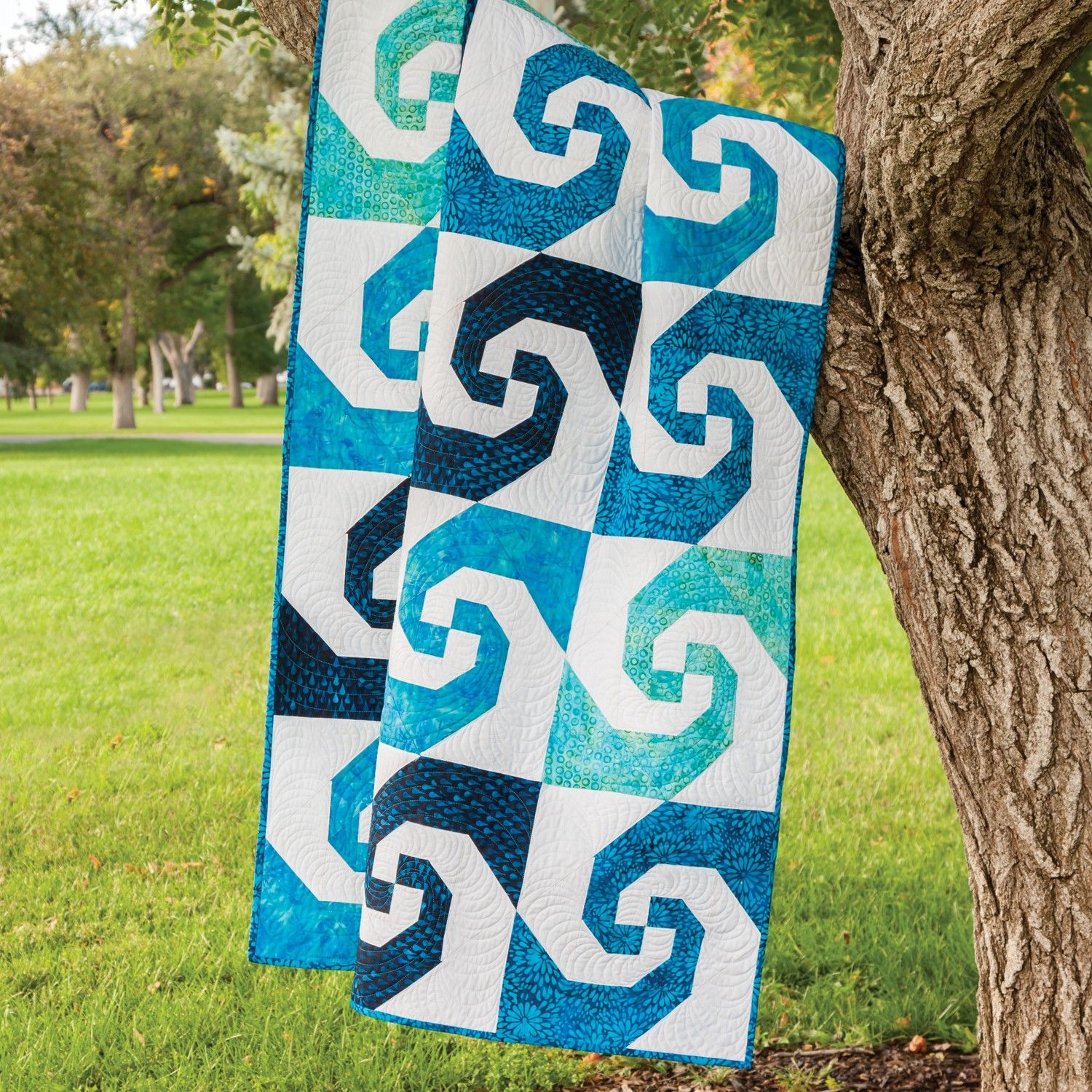 Snail Trail Quilt Block One Of The Newer Quilt Blocks Of