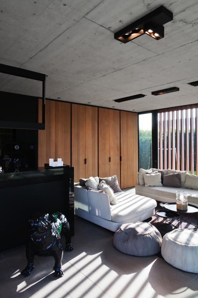 Lineos ontwerpbureau - Poolhouse met zwembad