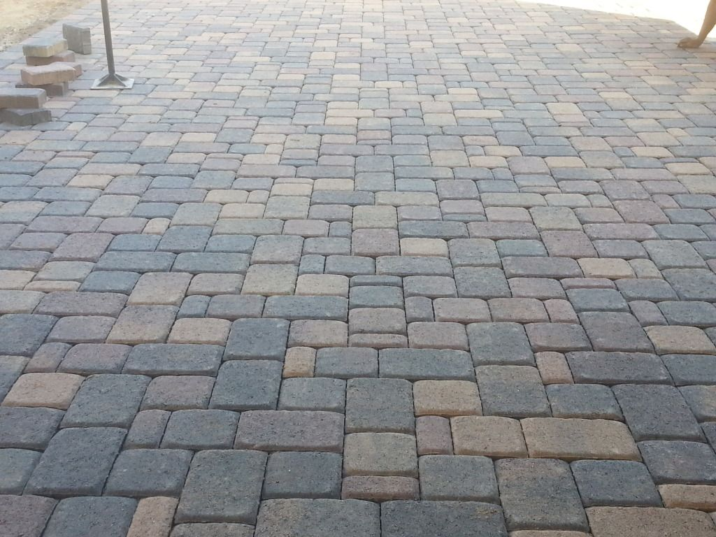 Bon BELGARD CAMBRIDGE COBBLE 3 PIECE PAVERS COLOR IS BELLA IN CHANDLER, ARIZONA