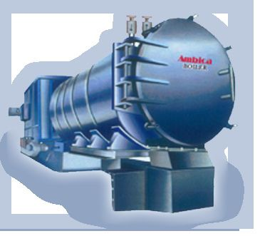 Horizontal Thermic Fluid Heater Steam Boiler Water Generator