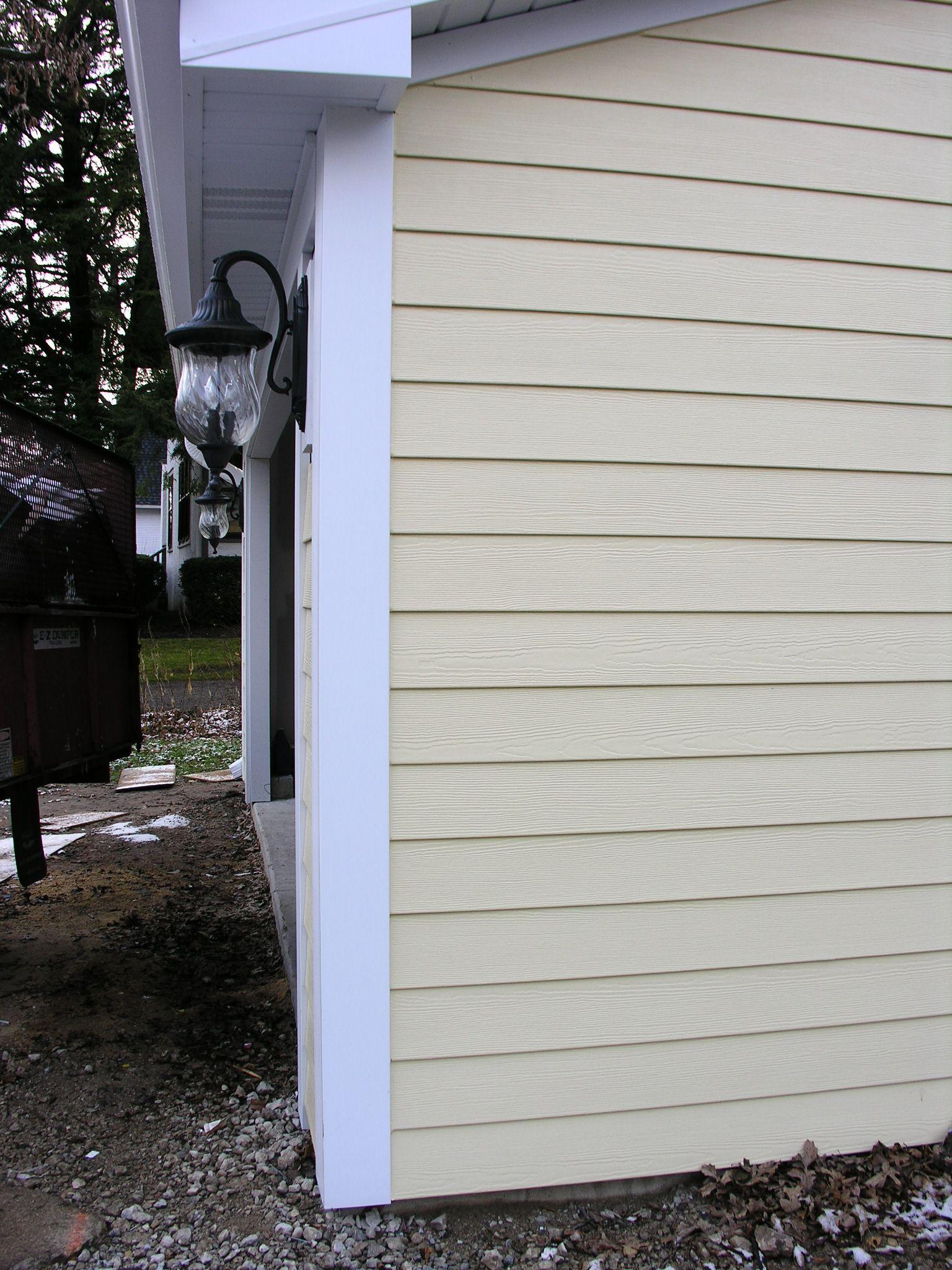 Colorplus Woodland Cream 6 Cedarmill Plank Siding Fiber Cement Siding Siding Curb Appeal
