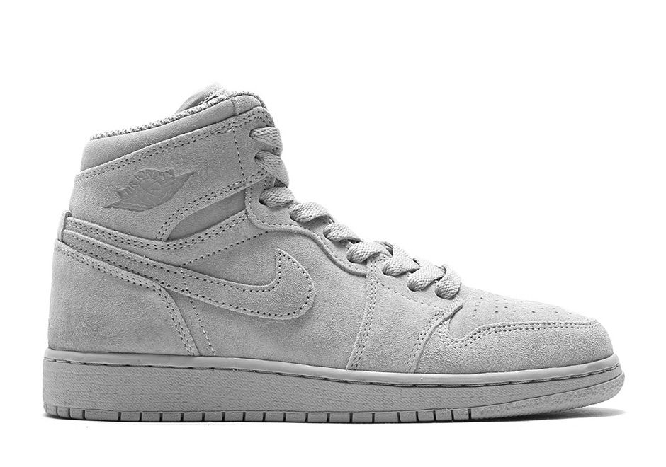 buy online 5a8d0 768b6 Air Jordan 1 High Suede