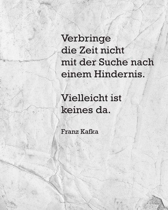 Pin von Christl Aux auf Franz Kafka in 2020 | Weisheiten ...